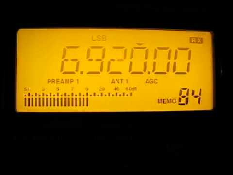 Baltic Sea Radio 6920 kHz. 23.6.2012.