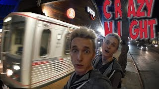LA METRO / FREE IHOP FOOD / TWERK IN PUBLIC / DISTURBING PEACE IN HOLLYWOOD **freaking crazy**
