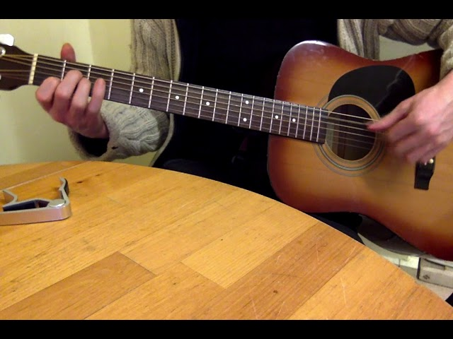 John Martyn Over the Hill guitar lesson
