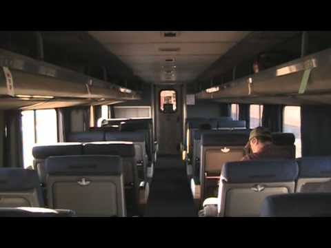 Amtrak's Empire Builder ~ Williston, ND to Minneapolis, MN