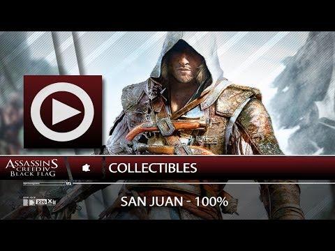 (SOG) San Juan / 100% / Collectibles - Navigation Guide (ASSASSIN'S CREED 4)