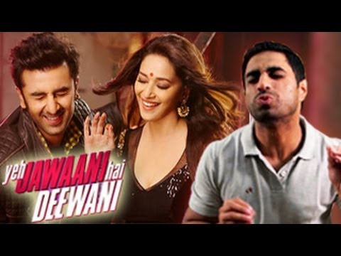 Ranbir Kapoor Kisses Madhuri Dixit In Yeh Jawaani Hai Deewani video