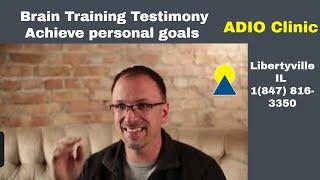 Brain Training Testimonials (Achieve personal goals)
