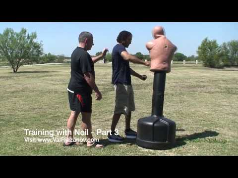 Russian Martial Arts, Systema and Ballistic Striking training With Neil Franklin - Part 3 Image 1