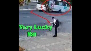 very lucky man accidentFK