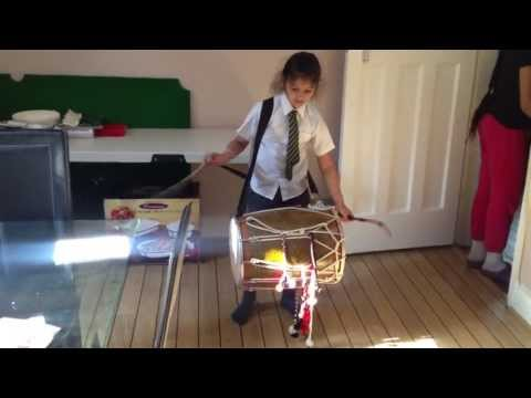 Youngest Punjabi Dhol Player (drummer) video