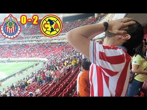 ¡NOS TRAEN DE HIJOS! Desde el estadio Chivas 0-2 America