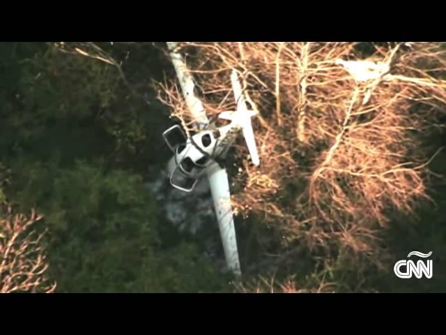 EE.UU.: Así fue el choque entre una avioneta y un helicóptero