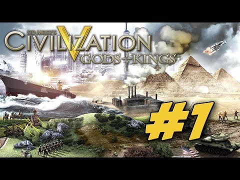 Civilization V with FPS Kyle and DrChiz. Part 1 (1080p Civ5 Gameplay)