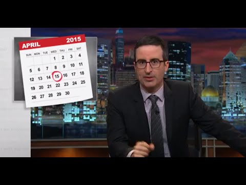 Last Week Tonight With John Oliver: The IRS (HBO)