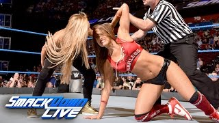 Carmella vs. Nikki Bella: SmackDown Live, Aug. 23, 2016