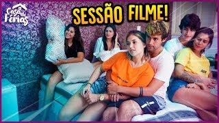 SESSÃO FILME EM CASAL!! - CASA DE FÉRIAS #38 [ REZENDE EVIL ]