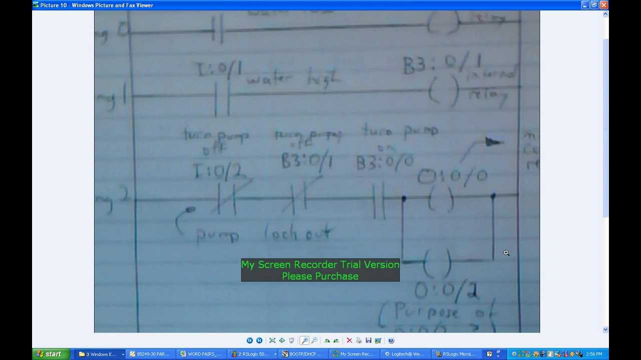 Creating Plc Program Using Rslogix 500 For The Micrologix 1100 2012 01 17 Wmv