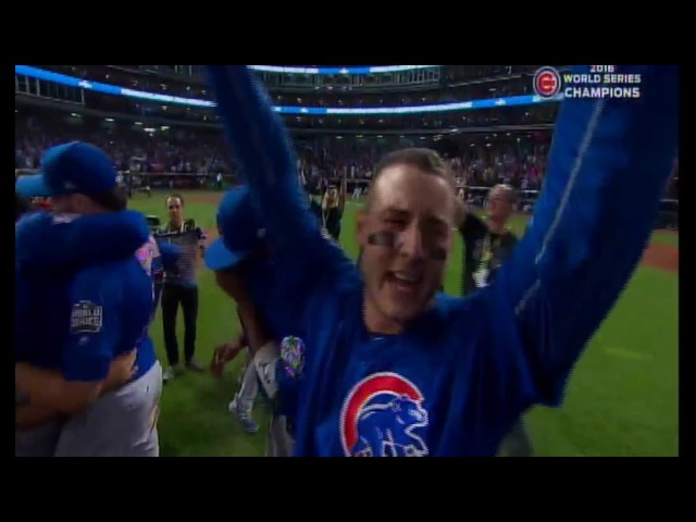 Cubs - Indians World Series Game 7 (Final Out)