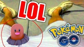 Las Capturas MÁS GRACIOSAS De Pokemon GO !
