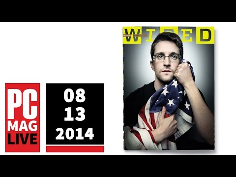 PCMag Live 08/13/14: Snowden Draped in American Flag & Yelp Reviewers Want to Get Paid
