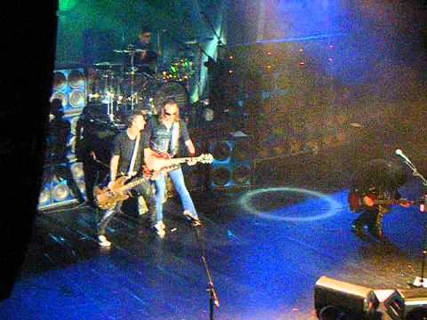 Ace Frehley - Foxy Lady with Anton Fig and Richie Scarlet - Best Buy,NYC 7-11-2012