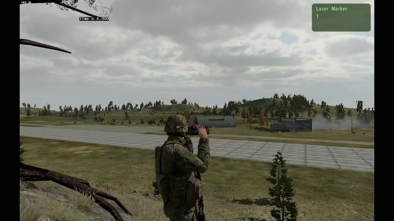 Arma 2 Laser Guided Bomb Test