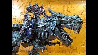 Review Transformers BmB Ancient Leader Ls-05 Grimlock Black Mamba mpm oversized Javitron Español