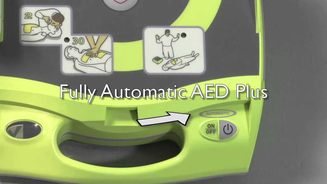 Fully Automatic AED Zoll Plus Defribrillator