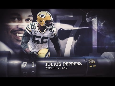 #71 Julius Peppers (LB, Packers)   Top 100 Players of 2015