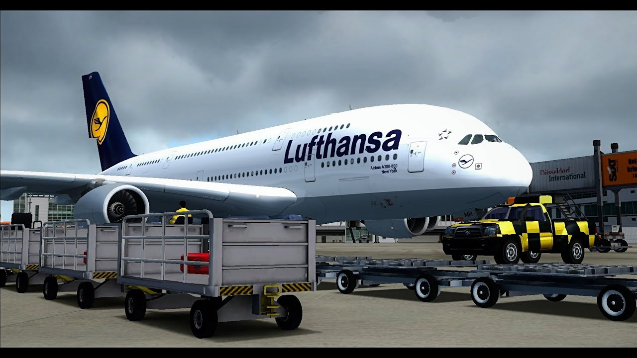 fsx a380 landing at d sseldorf 1080 p youtube. Black Bedroom Furniture Sets. Home Design Ideas
