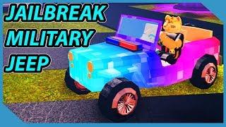 Roblox Jailbreak Military Jeep