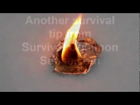 Survival guide: Make an emergency fire using cotton balls, petroleum jelly and a ferro rod