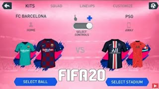 (1GB)FIFA 20 MOD FIFA 14 Android Offline New Menu Face Kits 2020 & Transfers Update Best Graphics