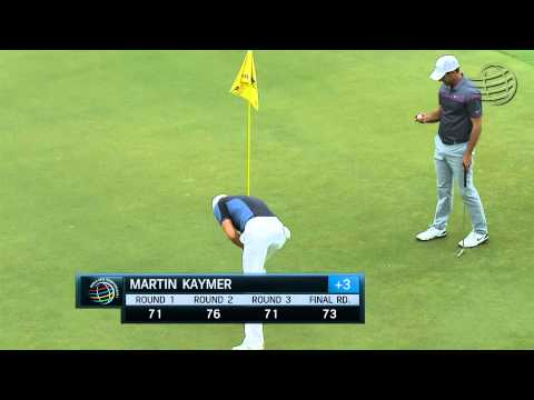 Martin Kaymer's exciting finish on his 72nd hole at Cadillac Championship