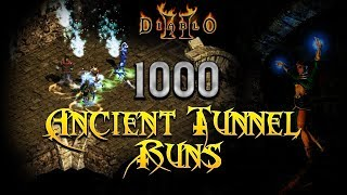 1000 Ancient Tunnel Runs - Diablo 2