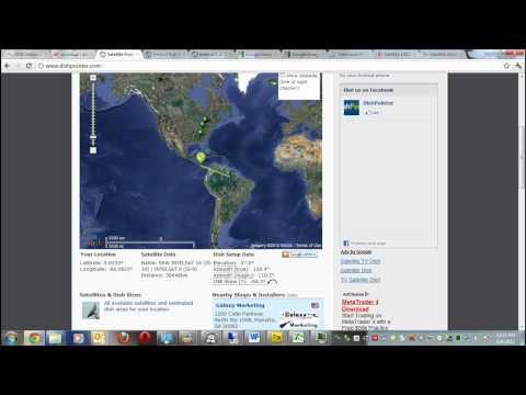 Tutorial 3/3 Tecnologiatv.com ¿Cómo bajar señales de TV satelital desde Amer. Central vía plato?