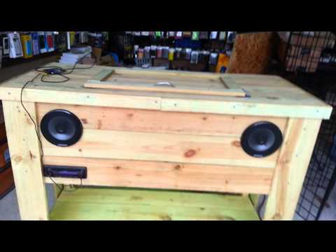 Diy Wood Ice Chest PDF Small Woodworking Shop Plans Plans