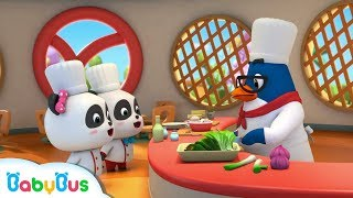Baby Panda Learns Cooking | Chinese Recipes | Kids Role Playing | BabyBus