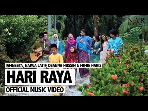 Iamneeta, Najwa Latif, Deanna Hussin & Mimie Haris - Hari Raya (official Music Video) video