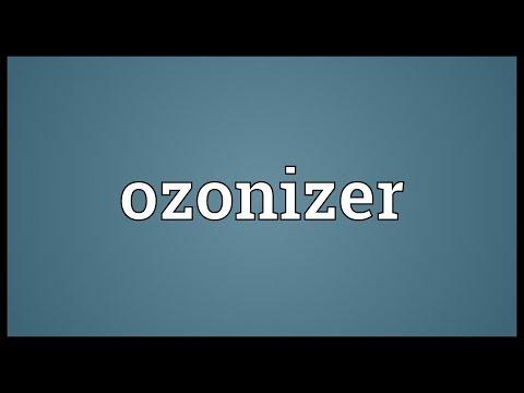 Header of ozonizer