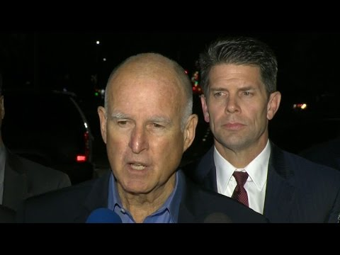 Gov. Jerry Brown: We'll go as far as we have to