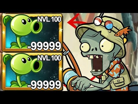 Plants Vs Zombies 2 Lanzaguisantes Nivel 100