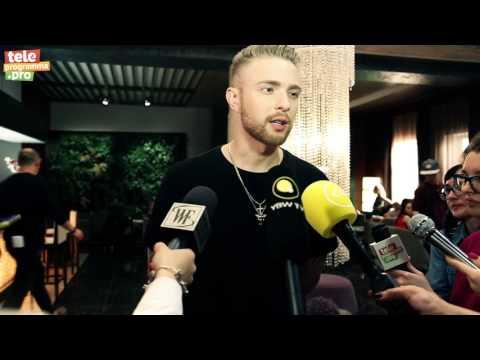 Егор Крид на съемках сериала «Отель Элеон»