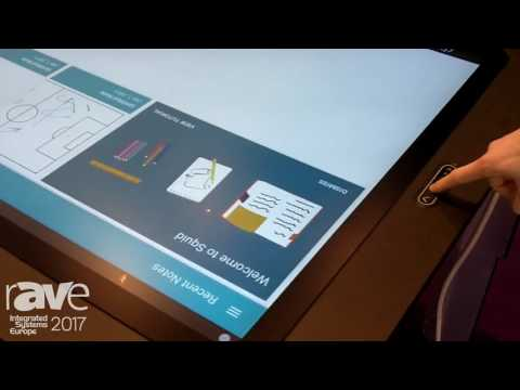 ISE 2017: D3 Demonstrates T Series Touch Table