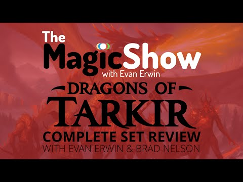 Dragons of Tarkir Complete Set Review - Red/Atarka!