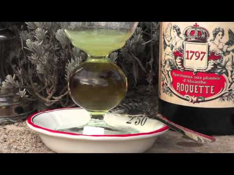 How to serve an absinthe, the traditional way...