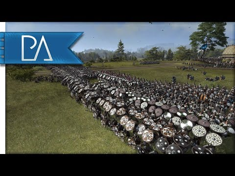 BERSERKER RAGE! MASSIVE SIEGE BATTLE - Thrones of Britannia: Total War Saga Gameplay