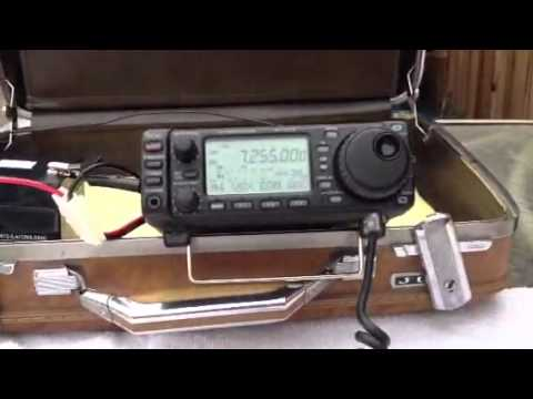QSO with K7ZAR on an Icom 703