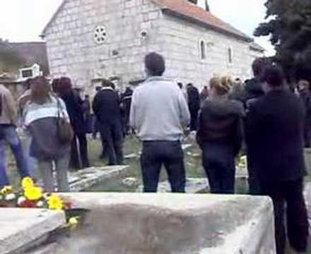 St.Mark Church Upper Vinovo Dalmatian hinterland Croatia