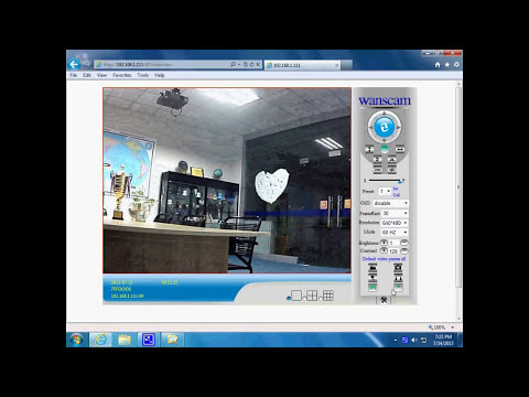 Wanscam P2P Security Wireless IP Camera Set up Video