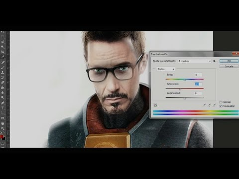 Mi Casting CineGame #31 - Robert Downey Jr. como Gordon Freeman de Half Life 1 y 2