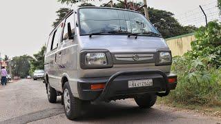 Maruti Suzuki Omni Test Drive Review   8 Seater Minivan Family Wagon   Rishabh Chatterjee