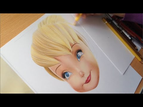 Tinkerbell - Speed Drawing