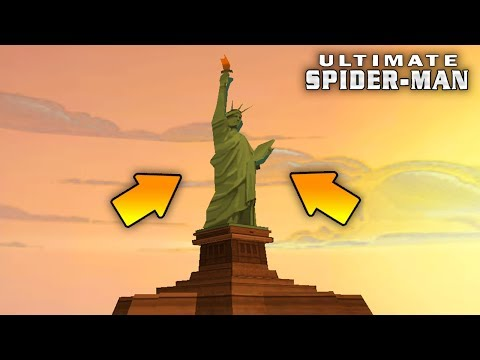 ЧТО БУДЕТ ЕСЛИ ДОБРАТЬСЯ ДО СТАТУИ СВОБОДЫ В ULTIMATE SPIDER-MAN ?!